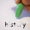 Erasing history by Alan Cleaver (CC BY 2.0) https://flic.kr/p/9a21aJ