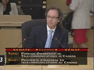 Removing Telco Foreign Ownership Restrictions: My Appearance Before Senate Committee on Transport & Comm