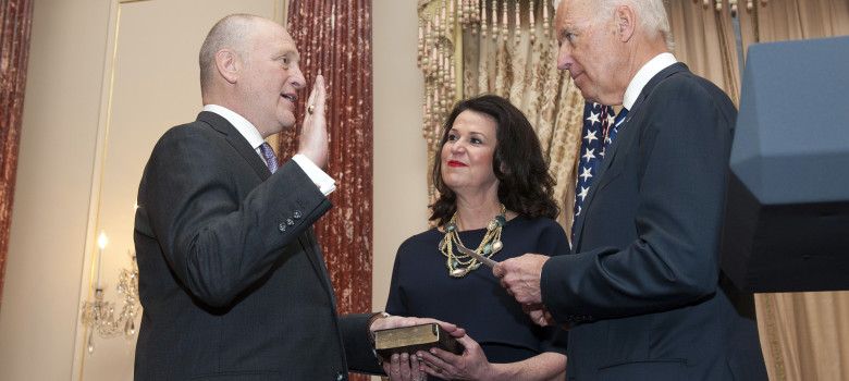 Vice President Biden Swears in Bruce Heyman as the U.S. Ambassador to Canada by Department of State (U.S. Government Work) https://flic.kr/p/muidu1