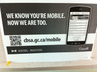 """""""We know you're mobile. Now we are too."""" by Neal Jennings (CC BY-NC-SA 2.0) https://flic.kr/p/dfFCeQ"""