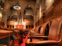Senate Chamber HDR by Intiaz Rahim (CC BY-NC-ND 2.0) https://flic.kr/p/5LhGZg
