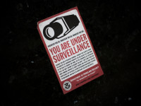 You Are Under Surveillance by Matt Katzenberger (CC BY-NC-SA 2.0) https://flic.kr/p/6JBjhQ
