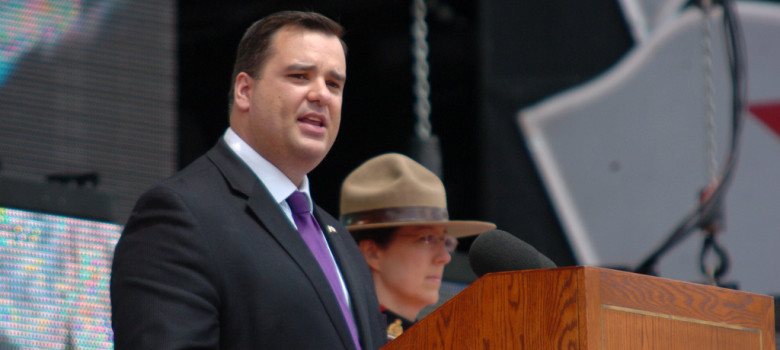 Minister of Canadian Heritage and Official Languages James Moore by Heather (CC BY 2.0) https://flic.kr/p/6BbzwP