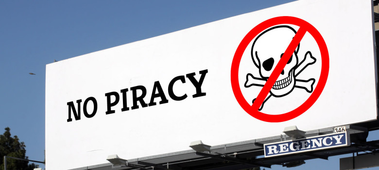 No Piracy billboard by Descrier (CC BY 2.0) https://flic.kr/p/faTECf