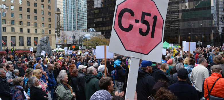 Stop Bill C-51 by Jeremy Board (CC BY 2.0) https://flic.kr/p/rCFtMw