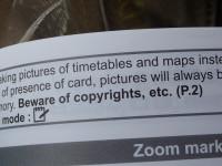 Beware of copyrights, etc. by Spushnik (CC BY-NC-SA 2.0) https://flic.kr/p/4YAzWn