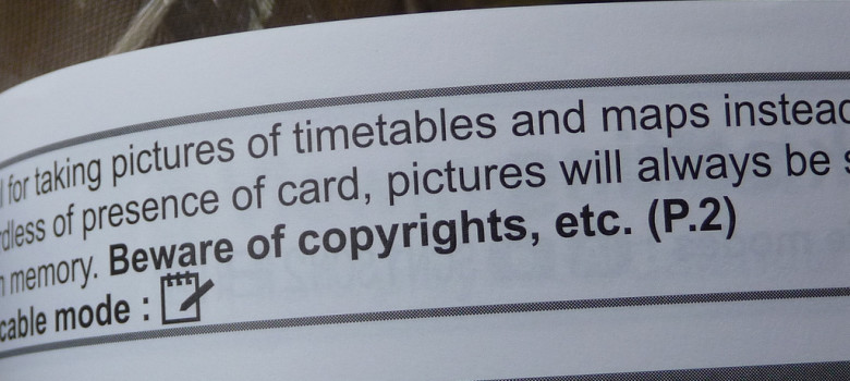 Beware of copyrights, etc. by Spushnik (CC BY-NC-SA 2.0) https://flic.kr/p/4YAzWn