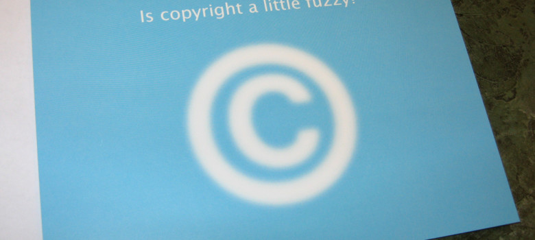 fuzzy copyright by Nancy Sims (CC BY-NC 2.0) https://flic.kr/p/37jCsU