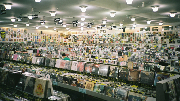 amoeba records by Chris Frewin (CC BY-NC-N