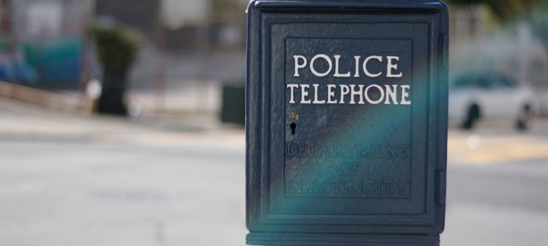 Police telephone by Marcin Wichary (CC BY 2.0) https://flic.kr/p/4nidee