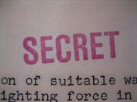 """""""SECRET"""" stamp by Alex Wellerstein (CC BY 2.0) https://flic.kr/p/aCJZrf"""