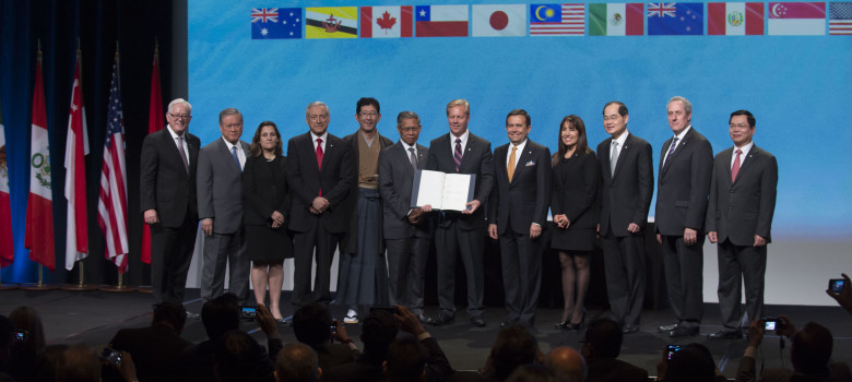 TPP Signing, February 4th, 2016 by US Embassy (CC BY-ND 2.0) https://flic.kr/p/DCM31U