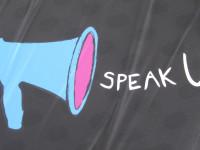 Speak up, make your voice heard by Howard Lake (CC BY-SA 2.0) https://flic.kr/p/9rAjnQ