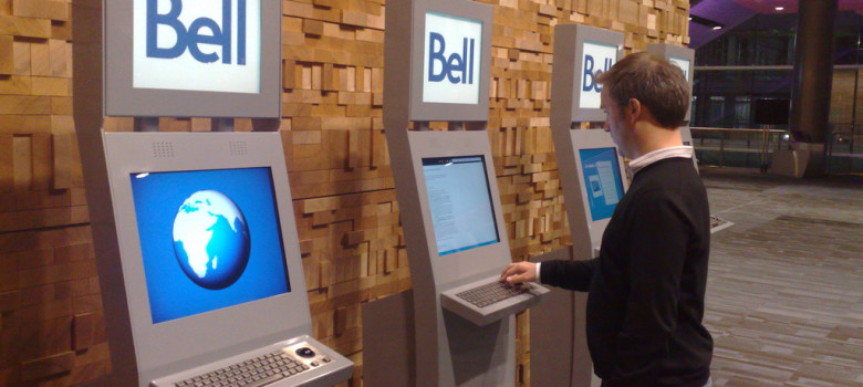 Bell Internet Kiosks Fail by Boris Mann (CC BY-NC 2.0) https://flic.kr/p/6kQ5h9
