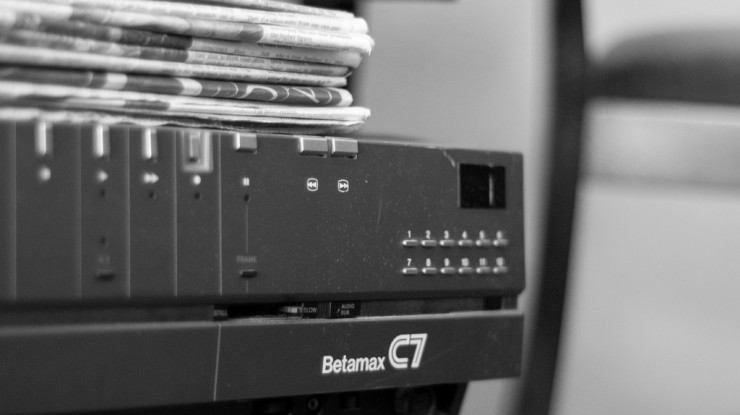 Betamax by Joel (CC BY-NC-ND 2.0) https://flic.kr/p/7vT7o1