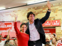 Chrystia Freeland and Justin Trudeau by Joseph Morris (CC BY-ND 2.0) https://flic.kr/p/gkZzcN