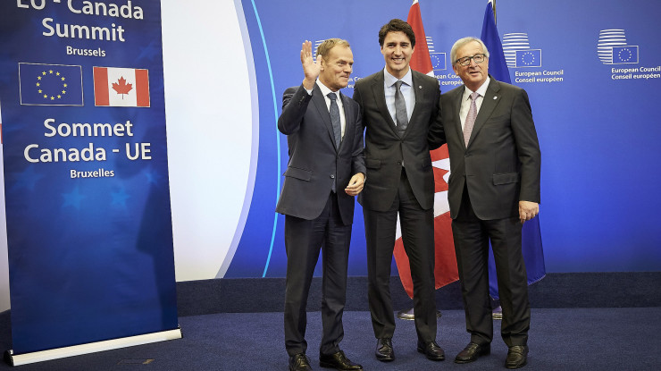 16th EU-Canada Summit, 30 October 2016 by European External Action Service (CC BY-NC 2.0) https://flic.kr/p/NBFYet