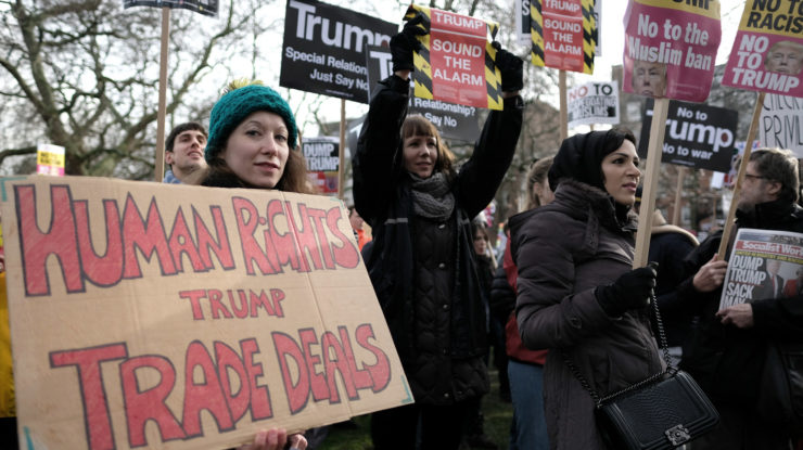Human rights trump trade deals. by Alisdare Hickson (CC BY-SA 2.0) https://flic.kr/p/Rh826L