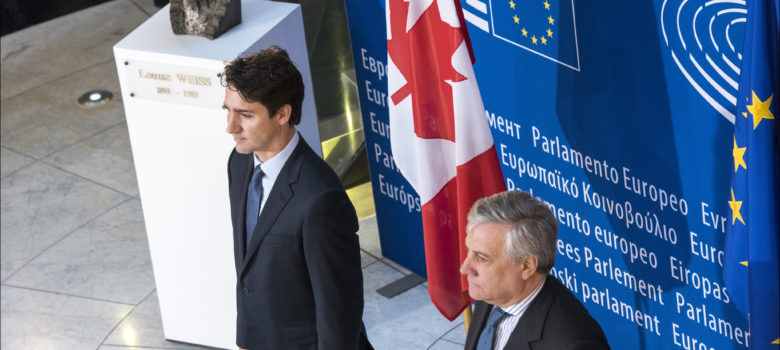 "Justin Trudeau: ""Trade needs to work for people"" by European Parliament (CC BY-NC-ND 2.0) https://flic.kr/p/RZn1gM"