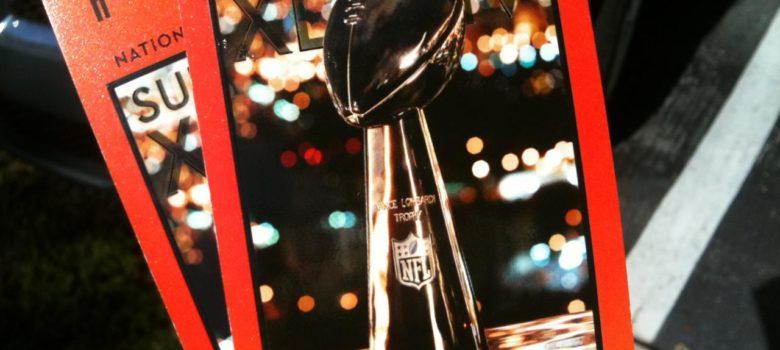 Super Bowl Tickets by Michael Dorausch (CC BY-SA 2.0) https://flic.kr/p/7CjXzW