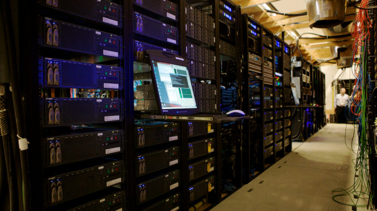 IBC CTV Central Equipment Room by Josh Tidsbury (CC BY-ND 2.0) https://flic.kr/p/7E6pXU
