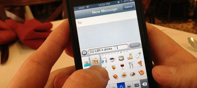 Texting Emoji by Intel Free Press (CC BY-SA 2.0) https://flic.kr/p/e6Ng39