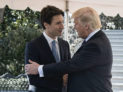By The White House from Washington, DC (Foreign Leader Visits) [Public domain], via Wikimedia Commons https://upload.wikimedia.org/wikipedia/commons/9/9f/Donald_Trump_Justin_Trudeau_2017-02-13_05.jpg