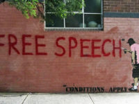 """FREE SPEECH*"" by Newtown grafitti (CC BY 2.0) https://flic.kr/p/atCVZq"