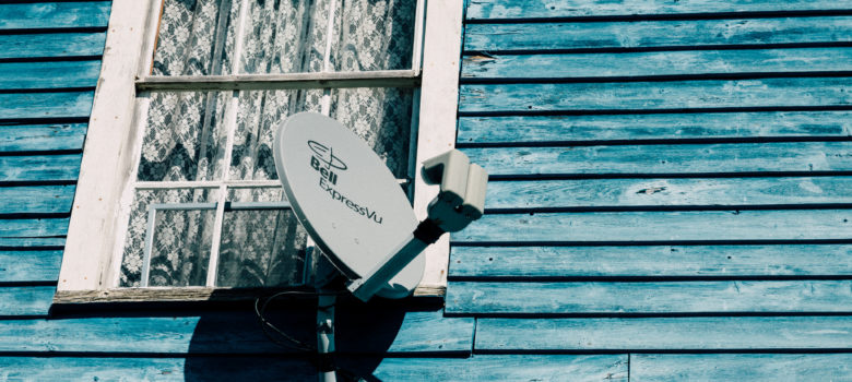 Bell Canada ExpressVu Satellite Dish by Tony Webster https://flic.kr/p/BRyfnp (CC BY-SA 2.0)