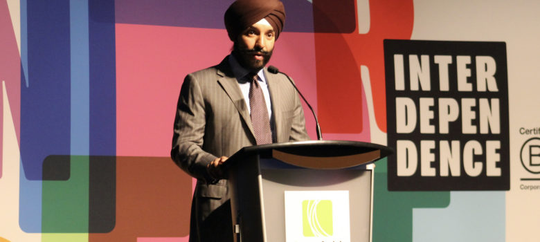 Minister Navdeep Bains Talk at BCorp Retreat by Mike Gifford (CC BY-SA 2.0) https://flic.kr/p/YJsKAf