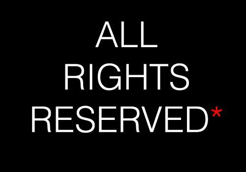 All Rights Reserved* by Paul Gallo (CC BY 2.0) https://flic.kr/p/6zMVmm