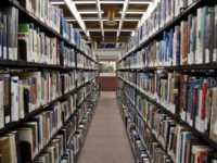 Toronto: book stacks at Toronto Reference Library by The City of Toronto (CC BY 2.0) https://flic.kr/p/gjDrZY
