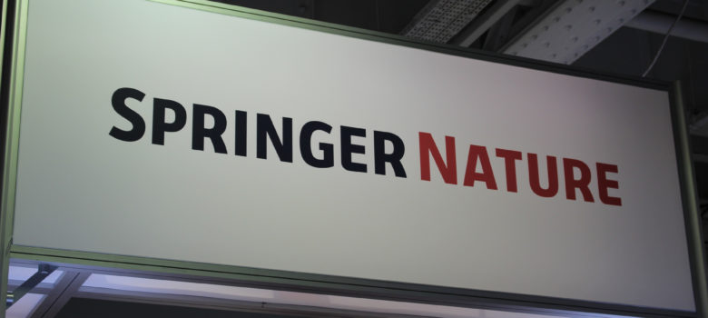 Springer Nature - London Book Fair 2018 by ActuaLitté (CC BY-SA 2.0) https://flic.kr/p/24REax4