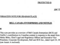 PCH memo on Netflix, obtained under ATIP, https://www.scribd.com/document/383336048/PCH-Memo-Bell-Netflix