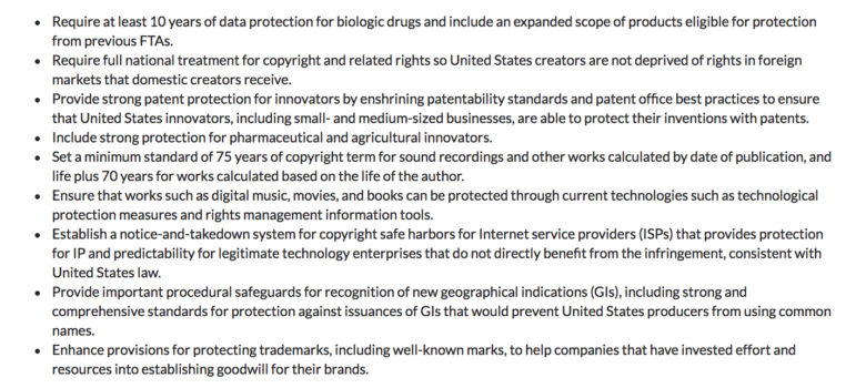Is Copyright Term Extension Still In Play In The New Nafta