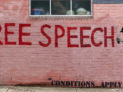 Free Speech * Conditions Apply by Fukt by Chris Christian (CC BY-NC 2.0) https://flic.kr/p/i3wYGf