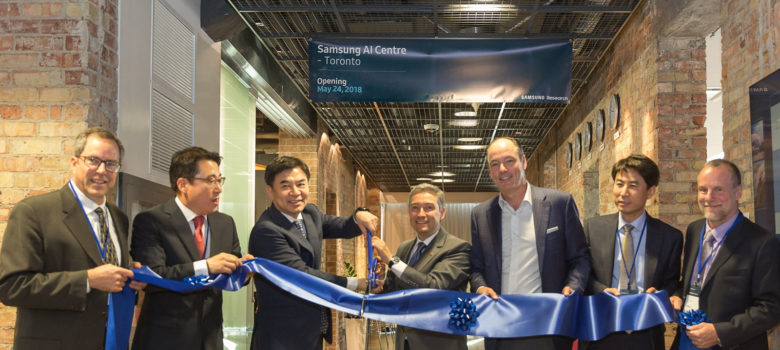 Toronto Lab to Help Lead Global AI Research & Development; Joins UK, and Russia as Part of a Network of Global AI Centres by Samsung Newsroom (CC BY-NC-SA 2.0) https://flic.kr/p/27wrmYy