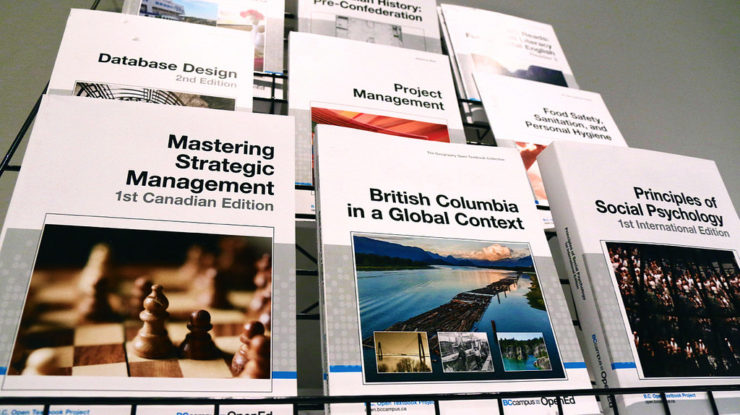 Open textbooks fill digital shelves by Province of British Columbia (CC BY-NC-ND 2.0) https://flic.kr/p/sQXqPY