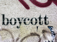 boycott by Martin Abegglen (CC BY-SA 2.0) https://flic.kr/p/4L7rjh