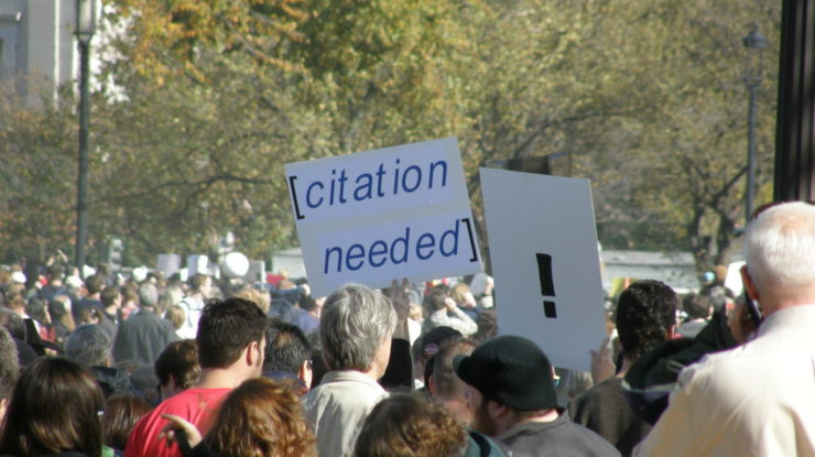 citation needed by Dan4th Nicholas (CC BY 2.0) https://flic.kr/p/8PEZiG