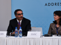 Fadi Chehadé President & CEO of ICANN speaks as part of the panel during the Ministerial meeting 'Addressing the challenges of a Hyper-connected world' at the 7th Internet Governance Forum (IGF) ann by Internet Society (Richard Stonehouse) (CC BY-NC-SA 2.0) https://flic.kr/p/drosgZ