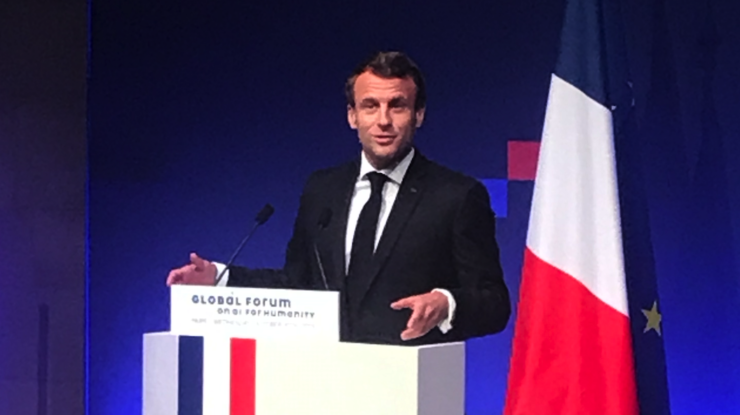Macron at GFAIH by Michael Geist
