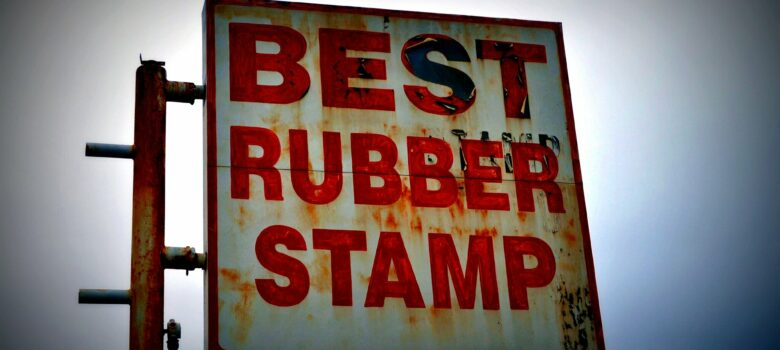 Best Rubber Stamp by Funky Tee (CC BY-SA 2.0) https://flic.kr/p/bchhhx