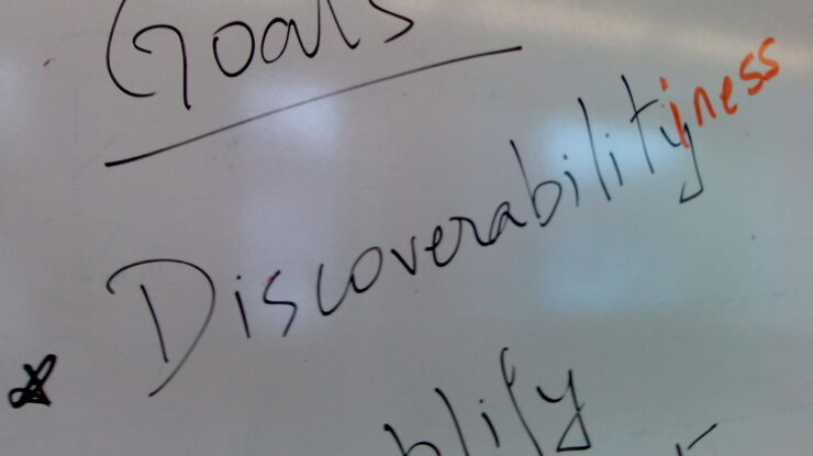 Discoverability by Shawn Honnick (CC BY-NC-ND 2.0) https://flic.kr/p/AhGix