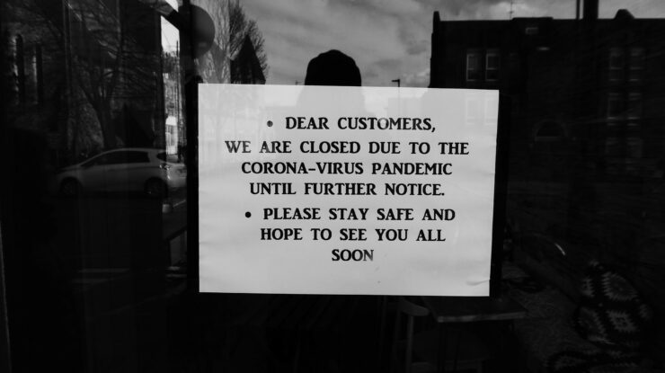 Closed due to the Corona-virus pandemic by Duncan C (CC BY-NC 2.0) https://flic.kr/p/2iGhk5x